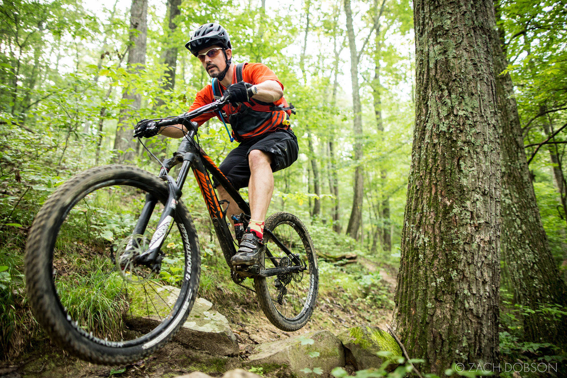 Brown County Indiana Mountain Biking