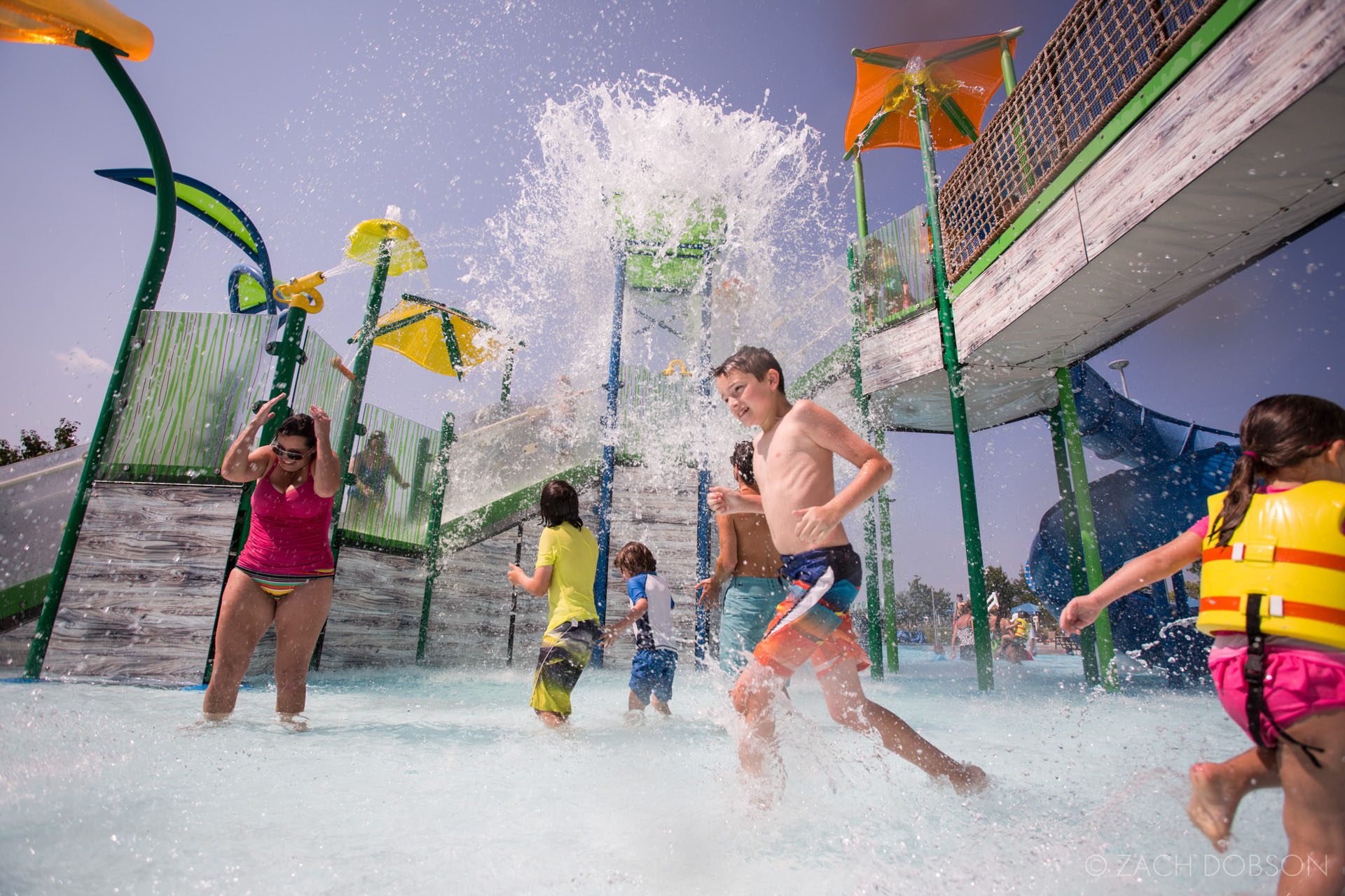 Carmel Indiana Monon Center Waterpark