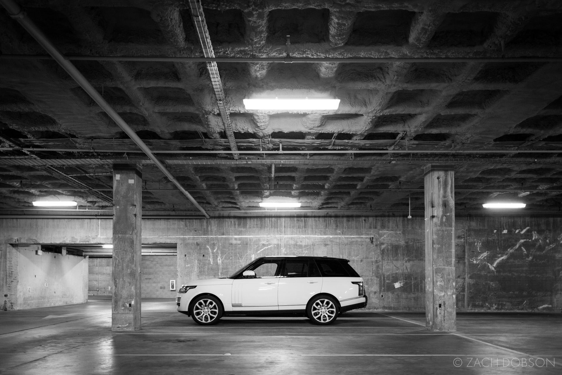 Indianapolis Range Rover Parking Garage
